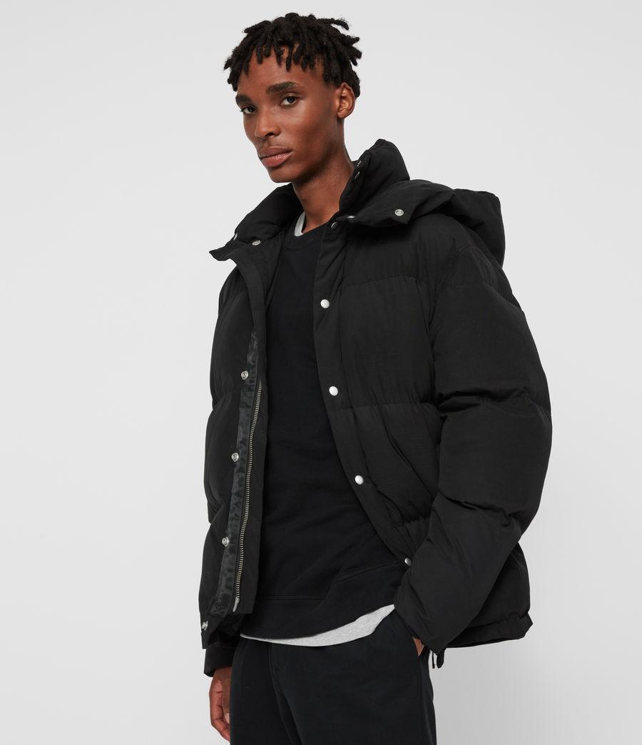 Men's Edbury Puffer Jacket (black) - Image 5
