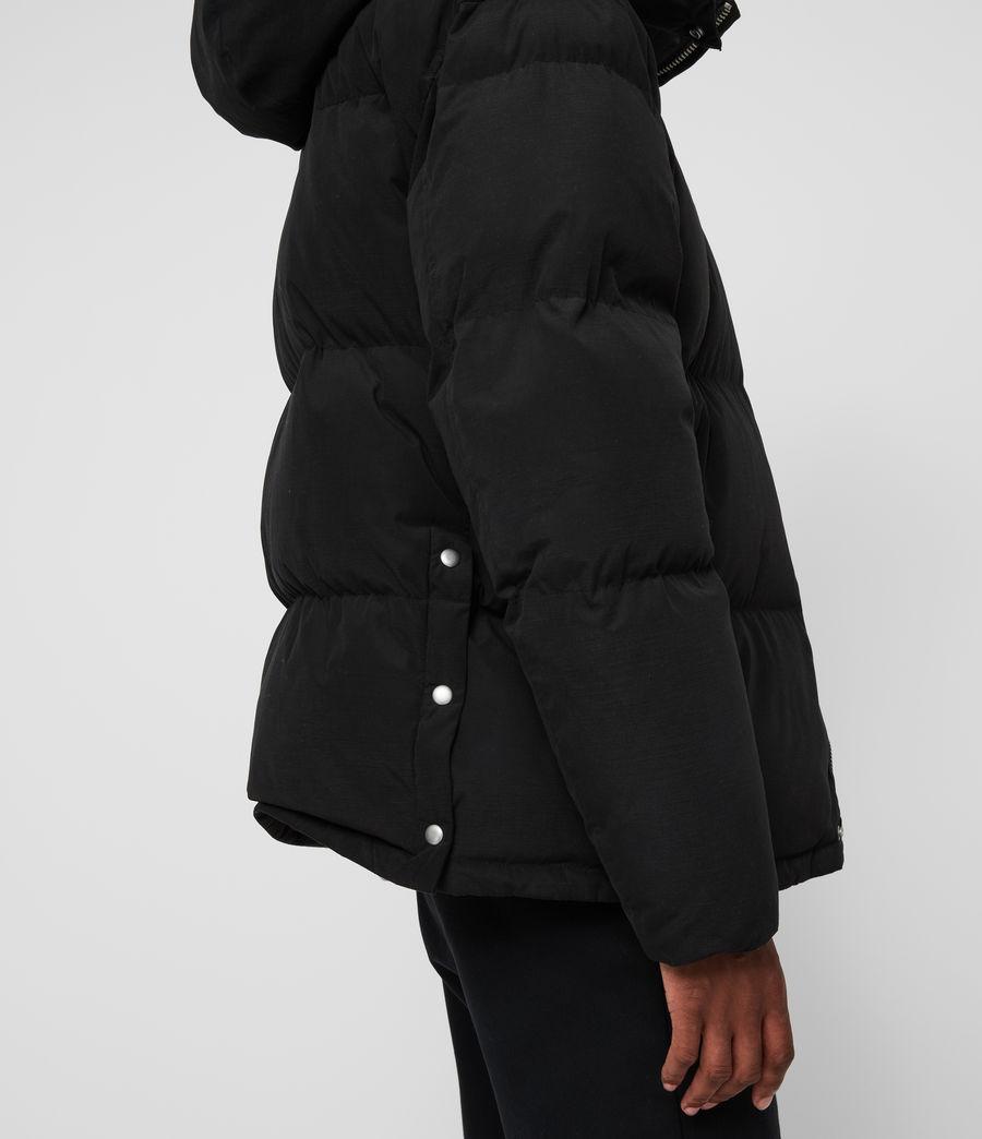 Men's Edbury Puffer Jacket (black) - Image 6