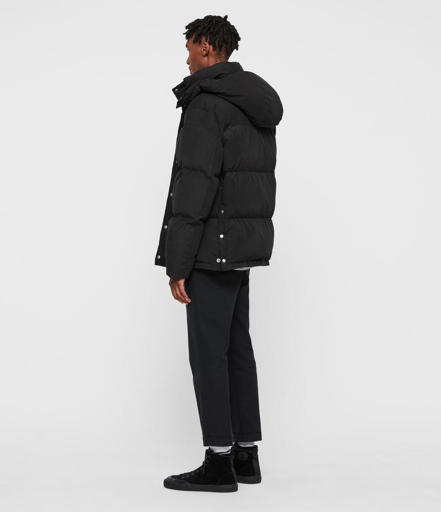 Men's Edbury Puffer Jacket (black) - Image 7