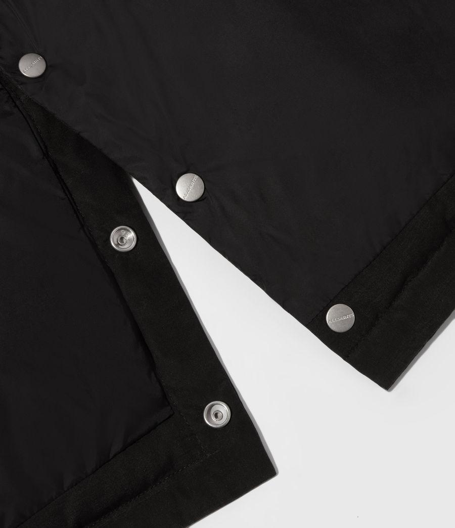 Men's Edbury Puffer Jacket (black) - Image 8