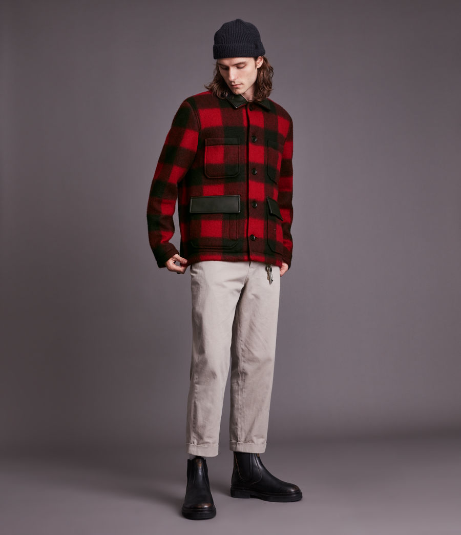 Mens Ans Jacket (red_buffalo) - Image 1