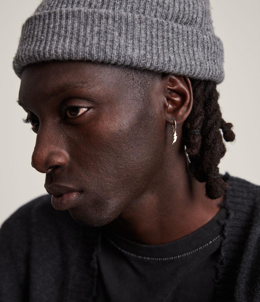 Men's Jude Hoop Earring (warm_silver_brass) - Image 1