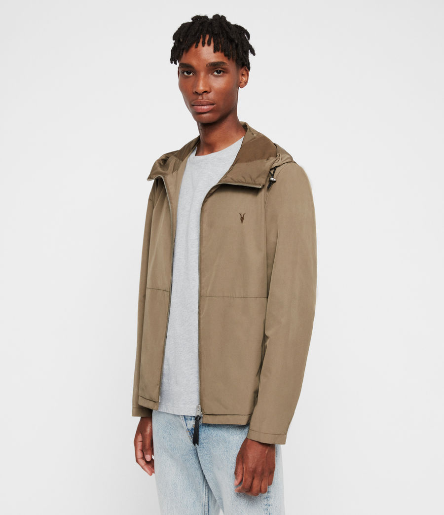 Mens Darley Jacket (moss_green) - Image 4