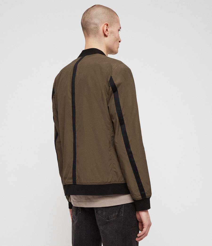 Men's Sonne Bomber Jacket (khaki_green) - Image 2