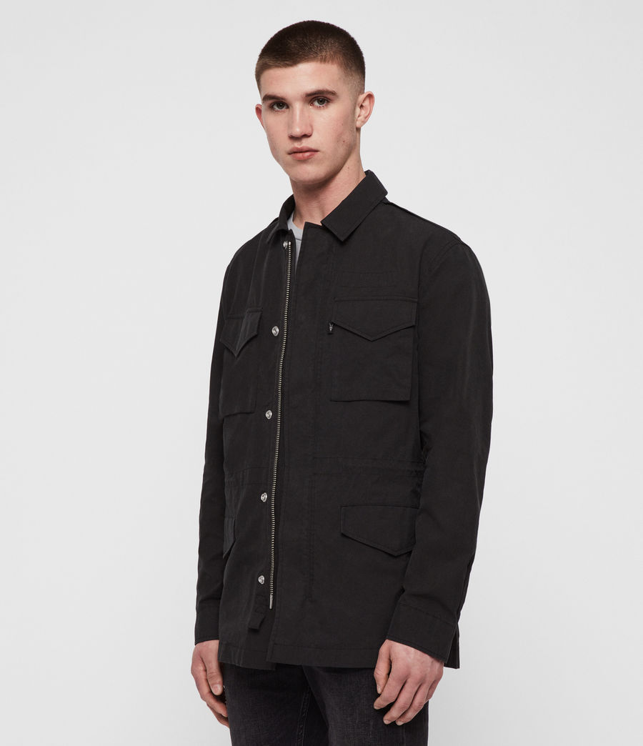 Men's Logan Jacket (washed_black) - Image 1
