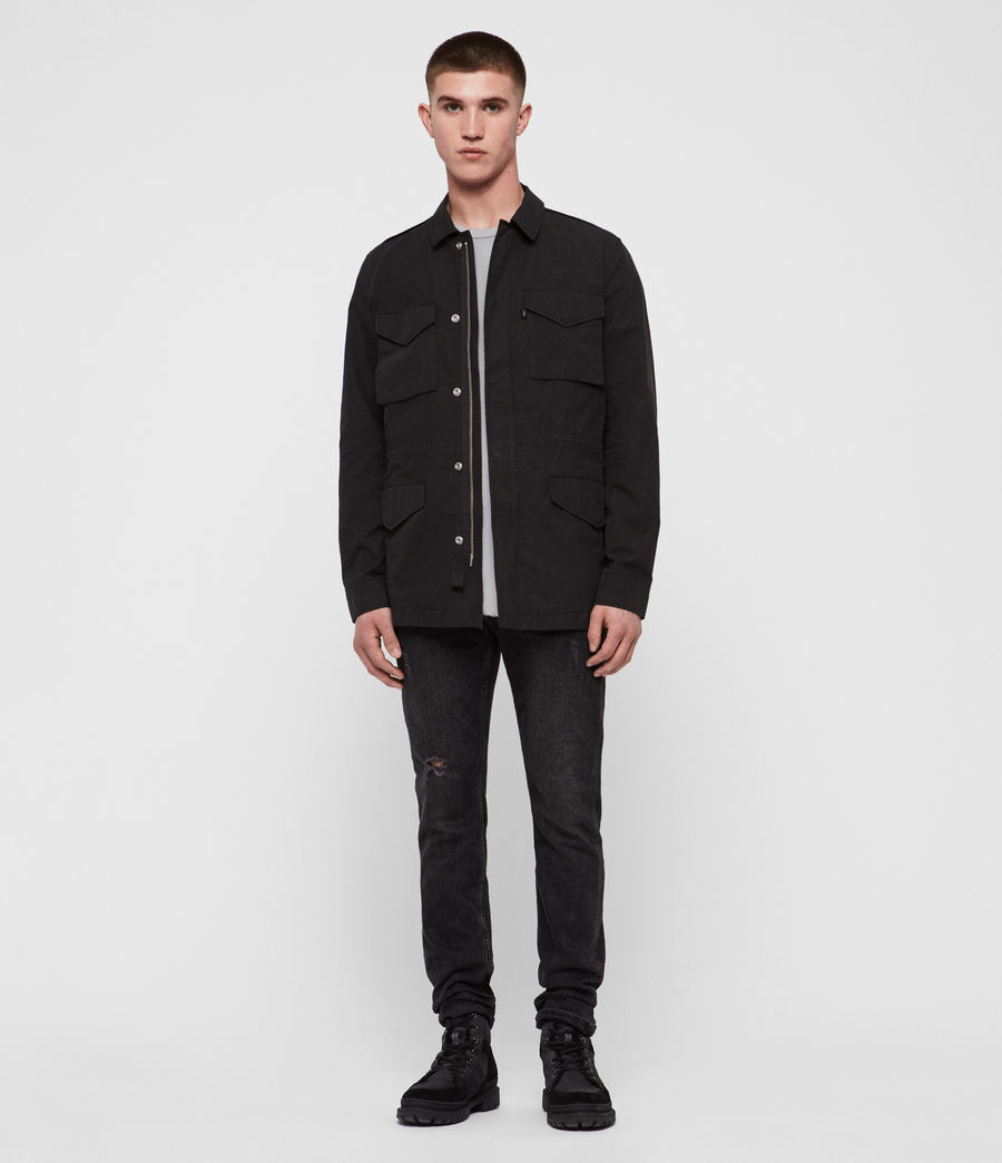 Men's Logan Jacket (washed_black) - Image 3