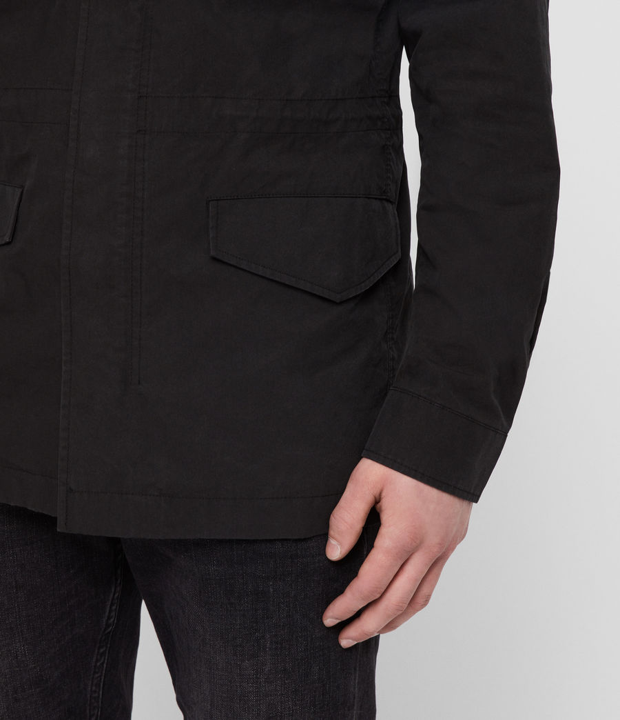 Men's Logan Jacket (washed_black) - Image 4