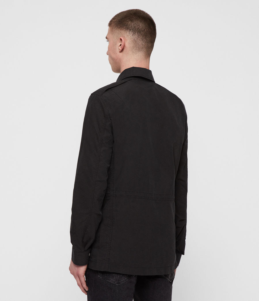 Men's Logan Jacket (washed_black) - Image 5