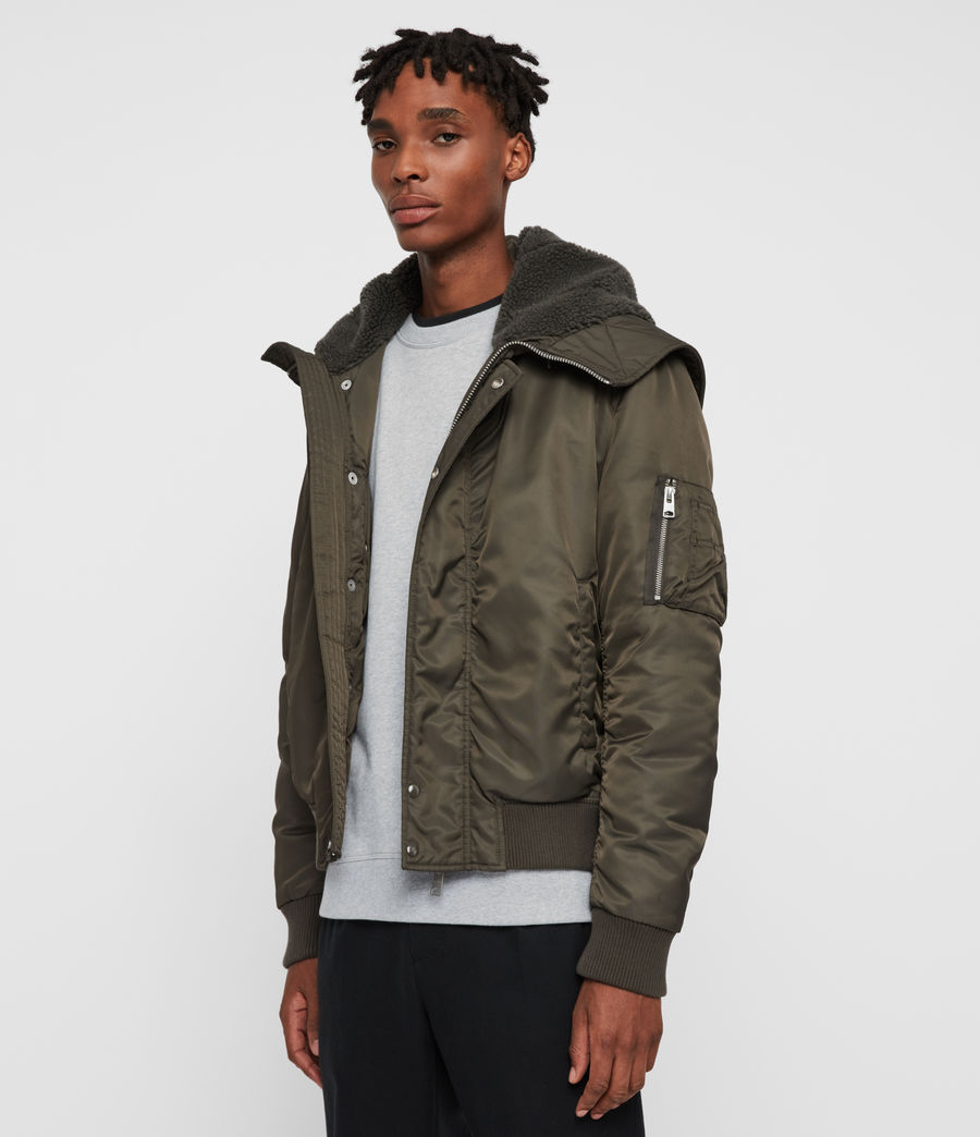 Mens Lowdes Jacket (khaki_brown) - Image 6