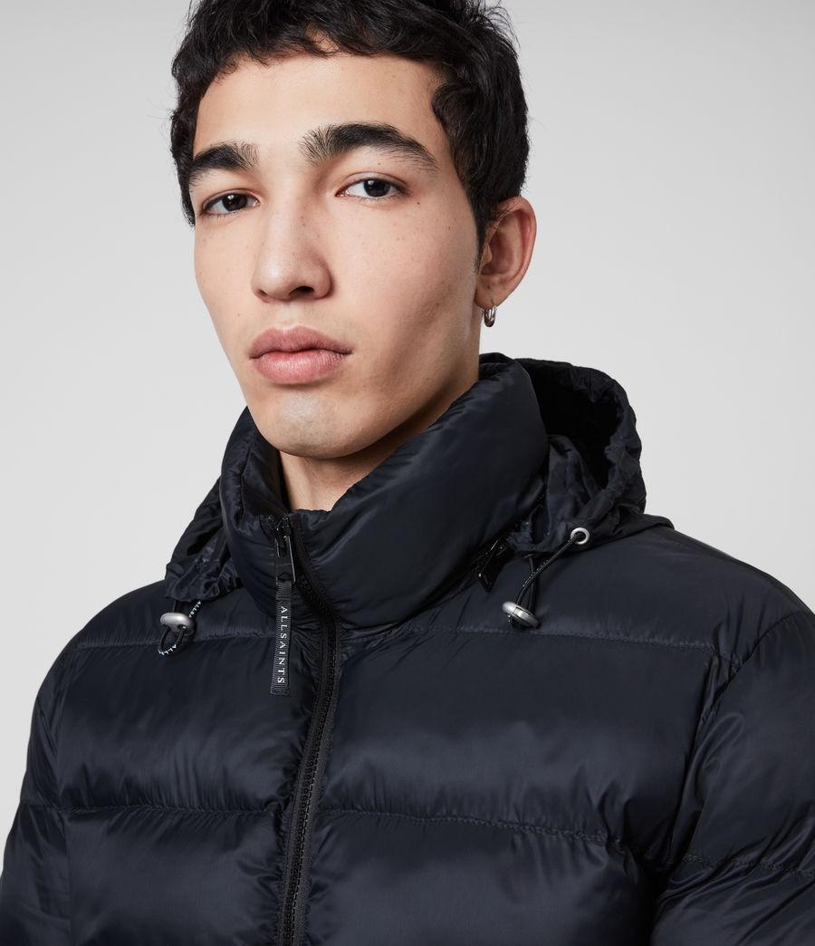 Mens Bramham Puffer Jacket (dark_ink) - Image 5