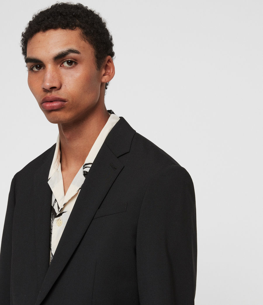 Men's Whyte Blazer (jet_black) - Image 3
