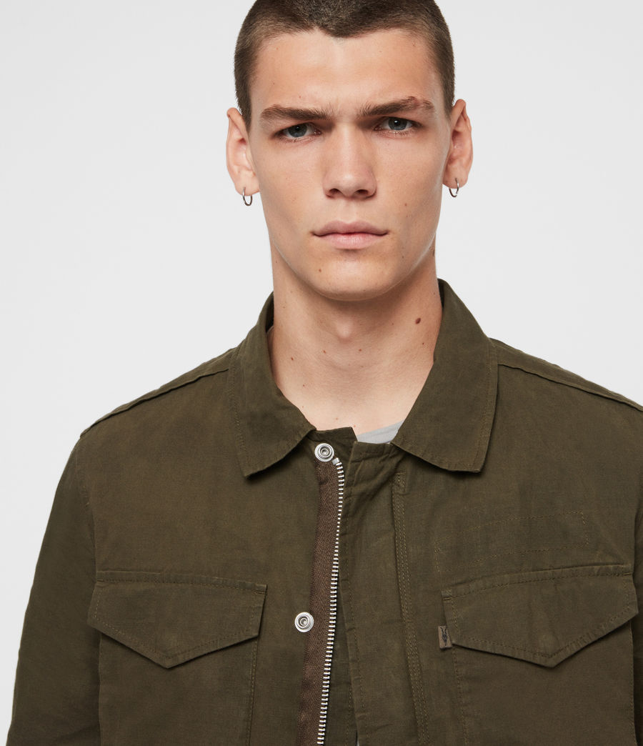 Men's Baynes Jacket (khaki_beech_green) - Image 2