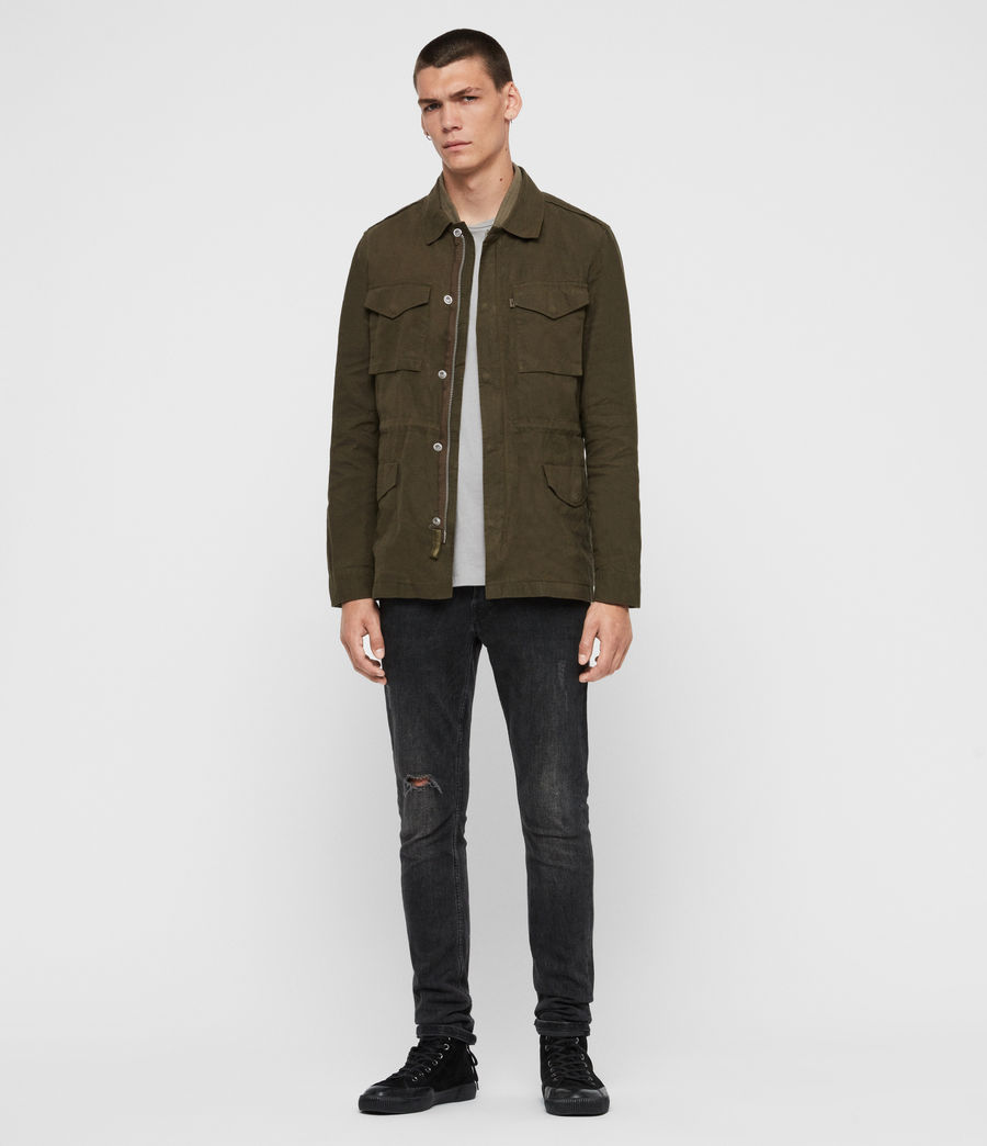 Men's Baynes Jacket (khaki_beech_green) - Image 3