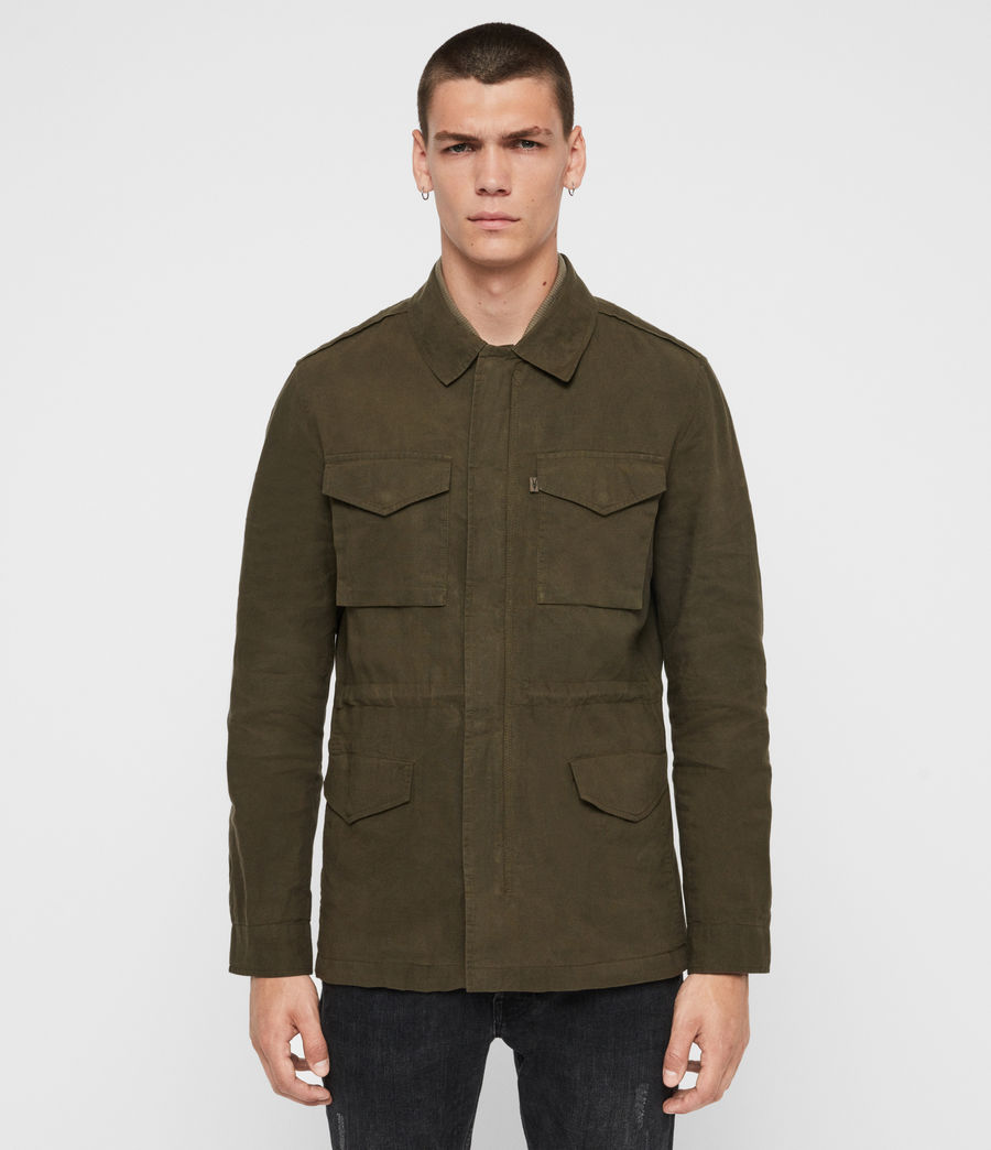 Men's Baynes Jacket (khaki_beech_green) - Image 4
