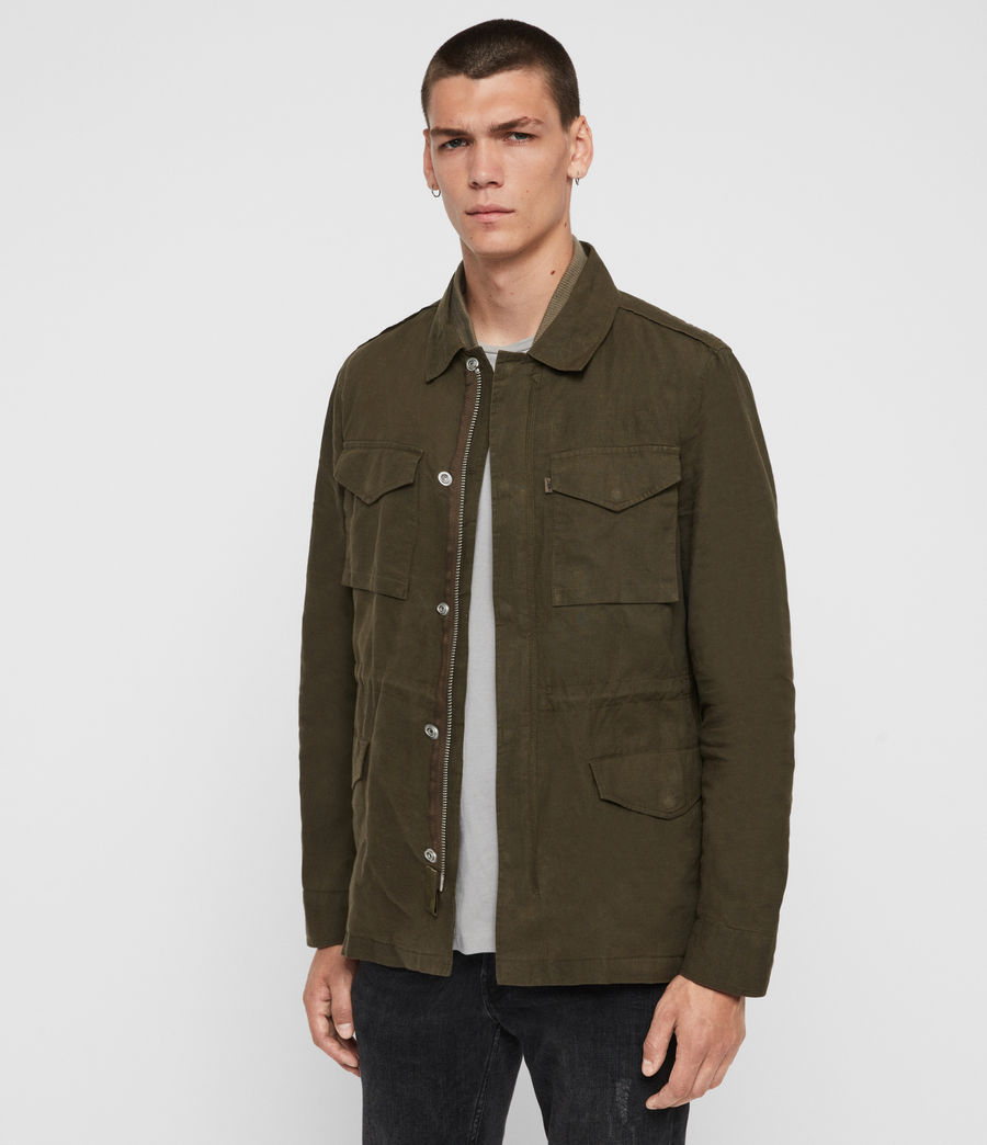 Men's Baynes Jacket (khaki_beech_green) - Image 5