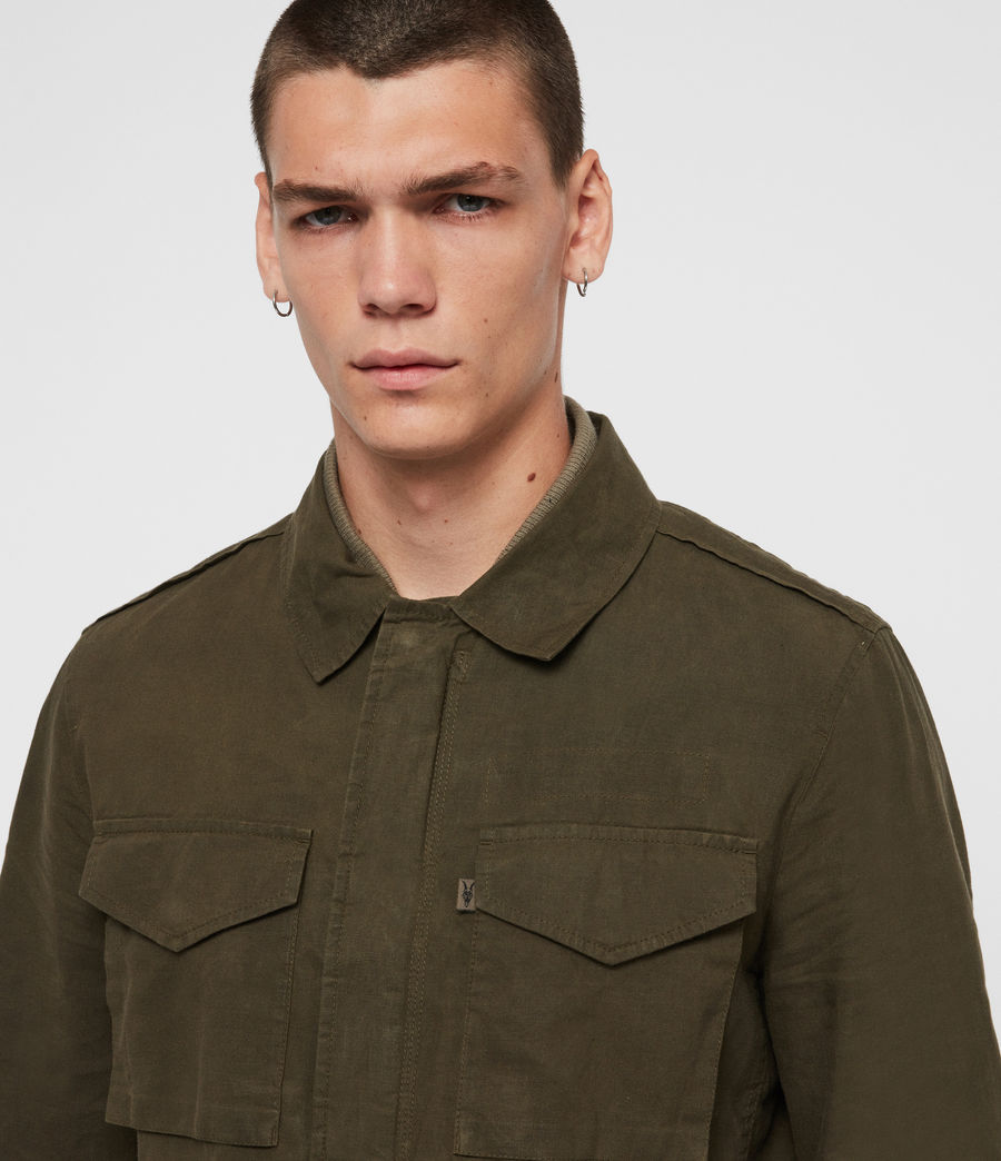 Men's Baynes Jacket (khaki_beech_green) - Image 6