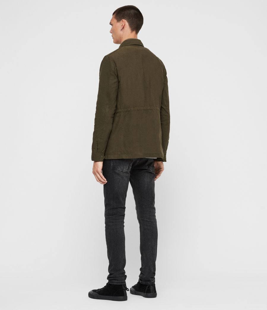 Men's Baynes Jacket (khaki_beech_green) - Image 7