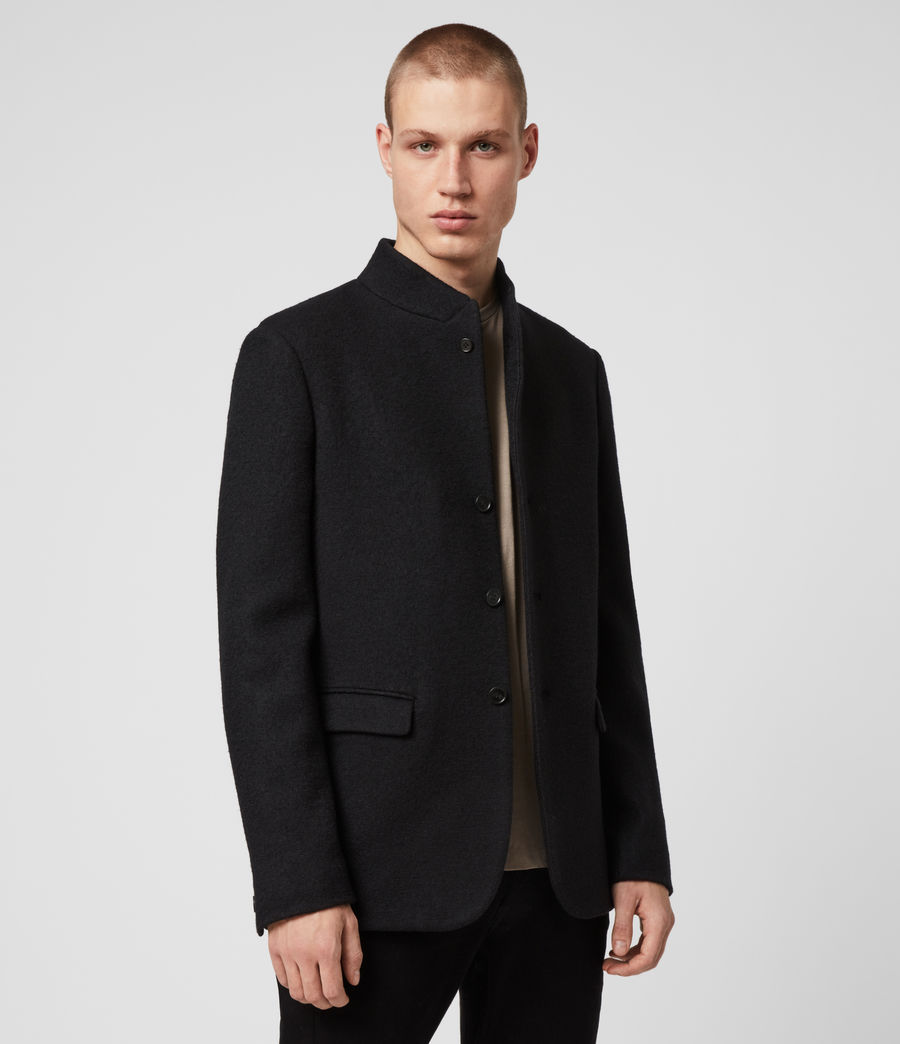 Men's Warrick Blazer (black) - Image 1