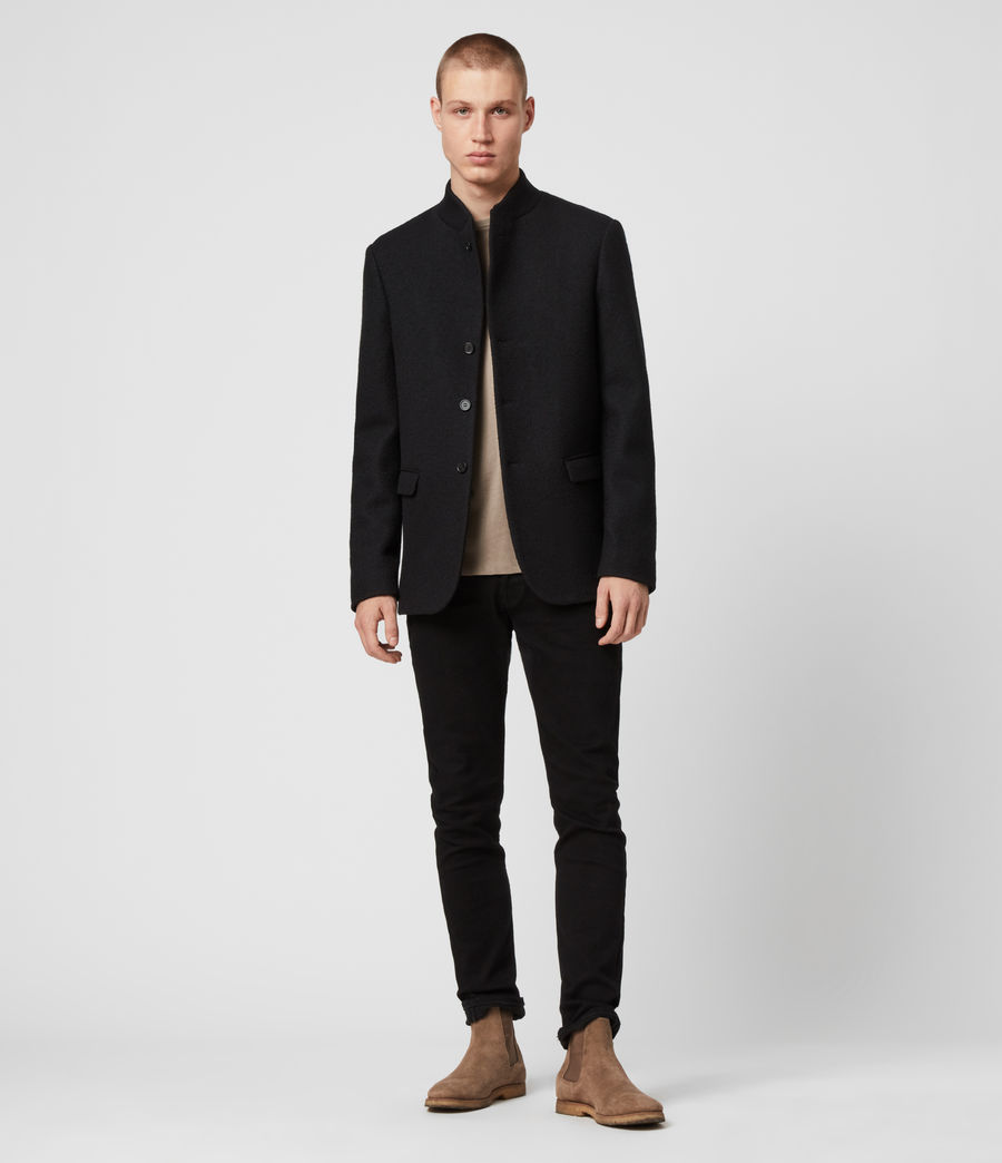 Men's Warrick Blazer (black) - Image 3