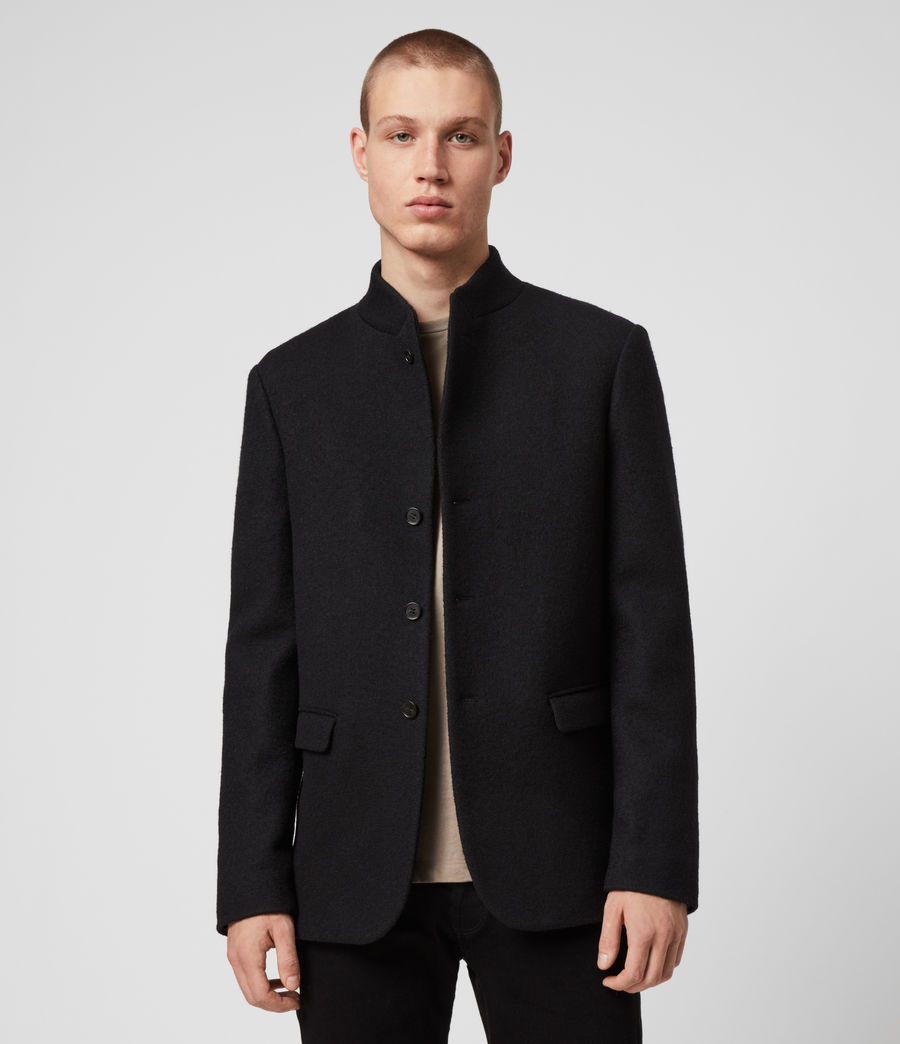 Men's Warrick Blazer (black) - Image 4