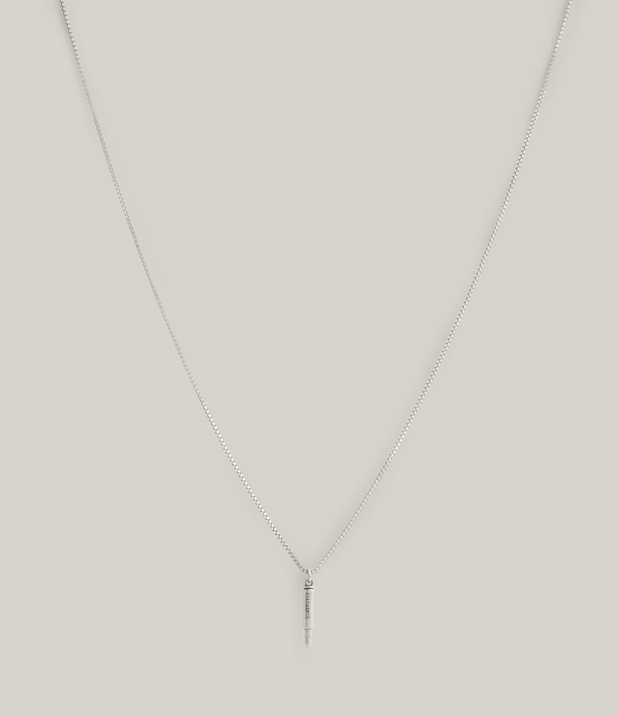 Men's Bodhi Sterling Silver Necklace (warm_silver) - Image 3
