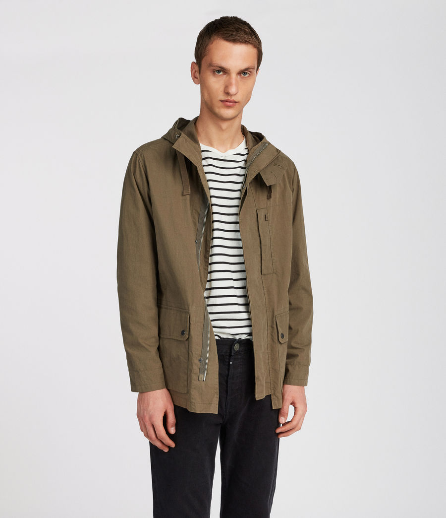 Mens Umaro Jacket (khaki_green) - Image 1