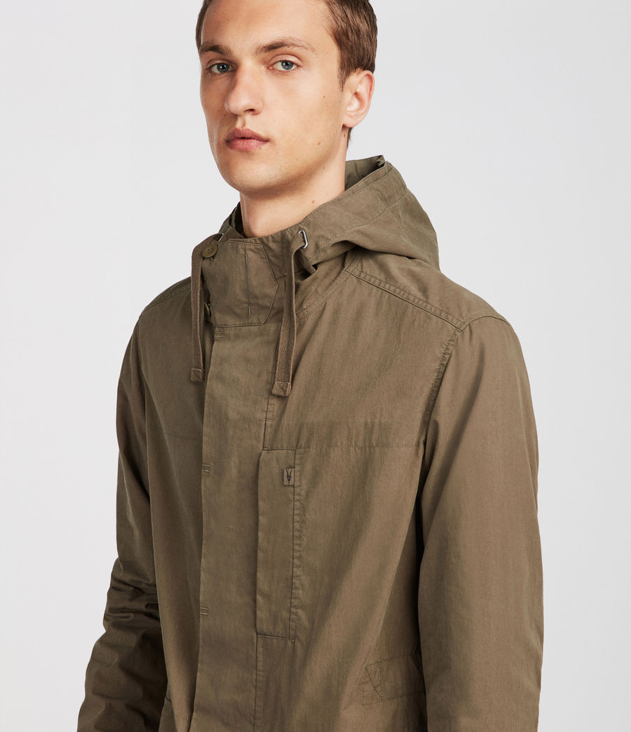 Mens Umaro Jacket (khaki_green) - Image 4