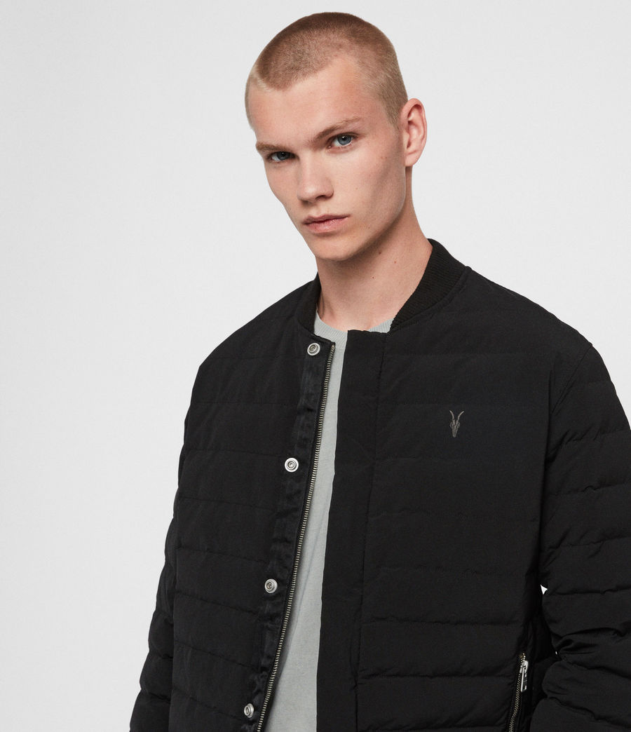 Mens Albion Jacket (black) - Image 2