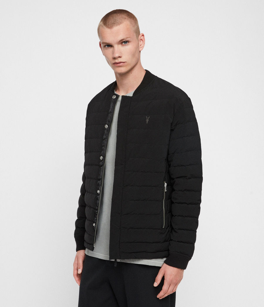 Mens Albion Jacket (black) - Image 3