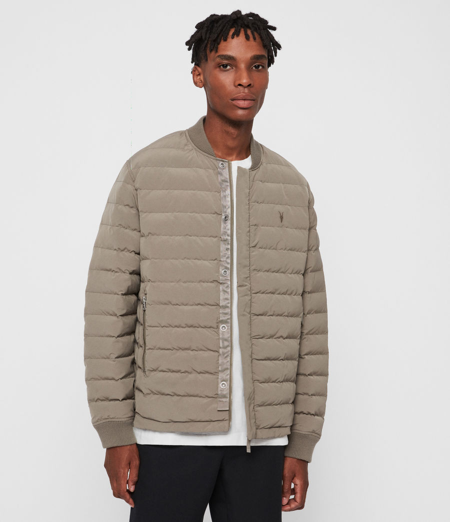 Men's Albion Jacket (sutro_grey) - Image 1