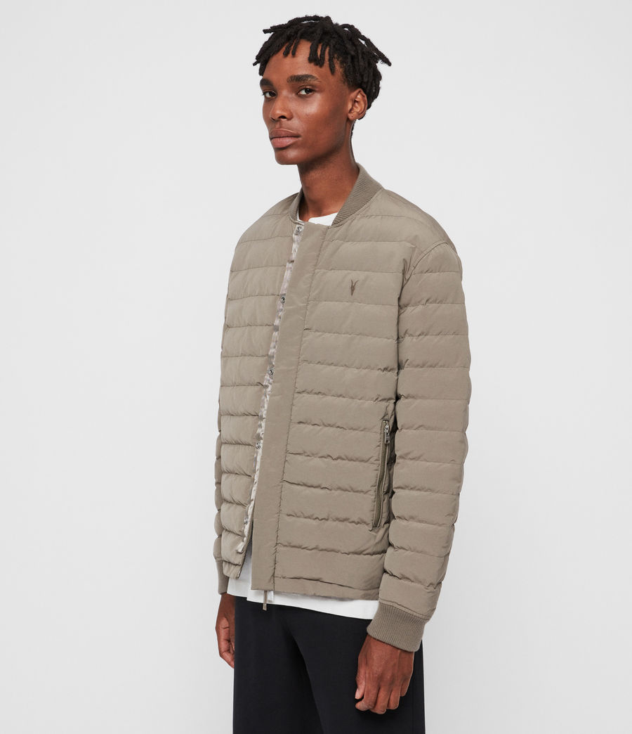 Men's Albion Jacket (sutro_grey) - Image 4