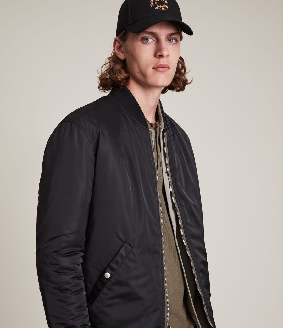 Mens Caldy Reversible Jacket (light_army_grn_blk) - Image 3