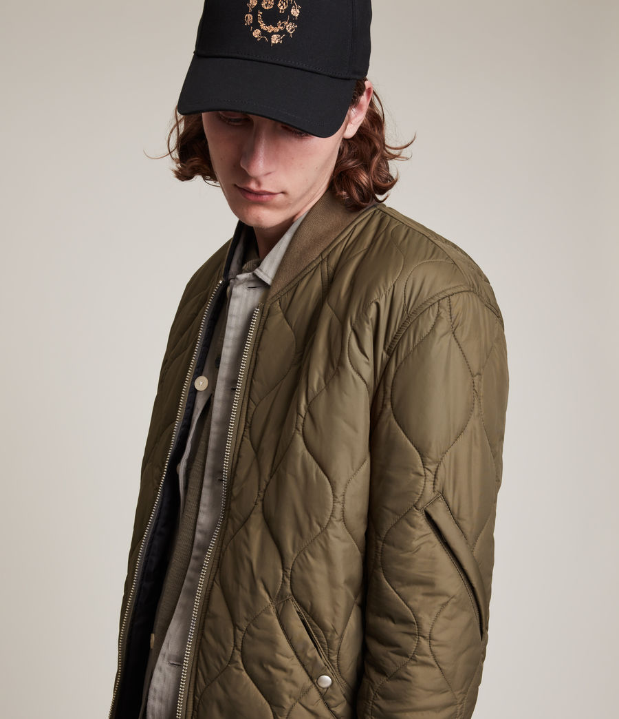 Mens Caldy Reversible Jacket (light_army_grn_blk) - Image 4