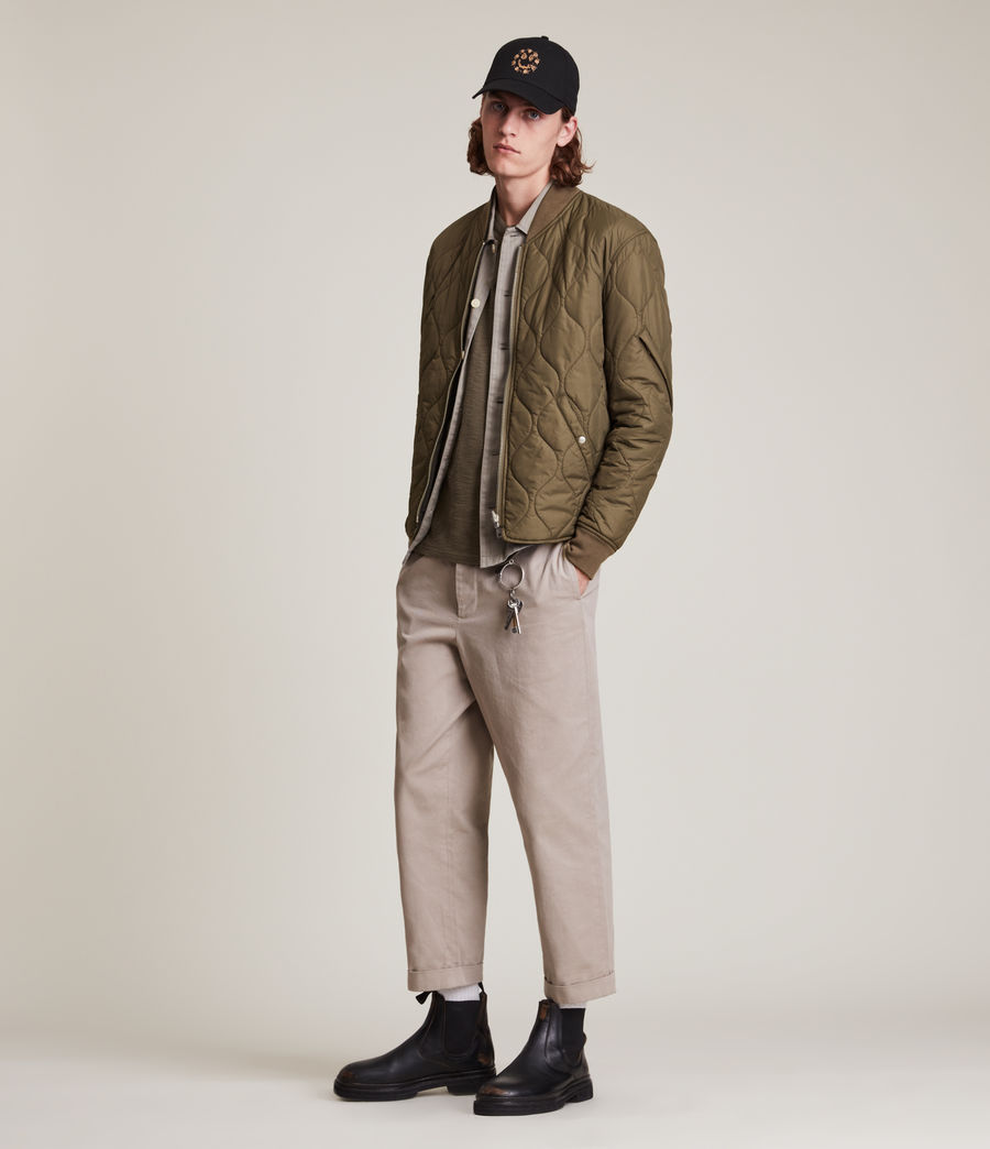 Mens Caldy Reversible Jacket (light_army_grn_blk) - Image 5