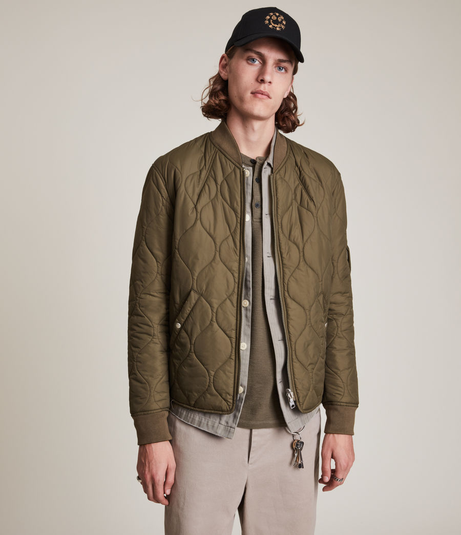 Mens Caldy Reversible Jacket (light_army_grn_blk) - Image 6