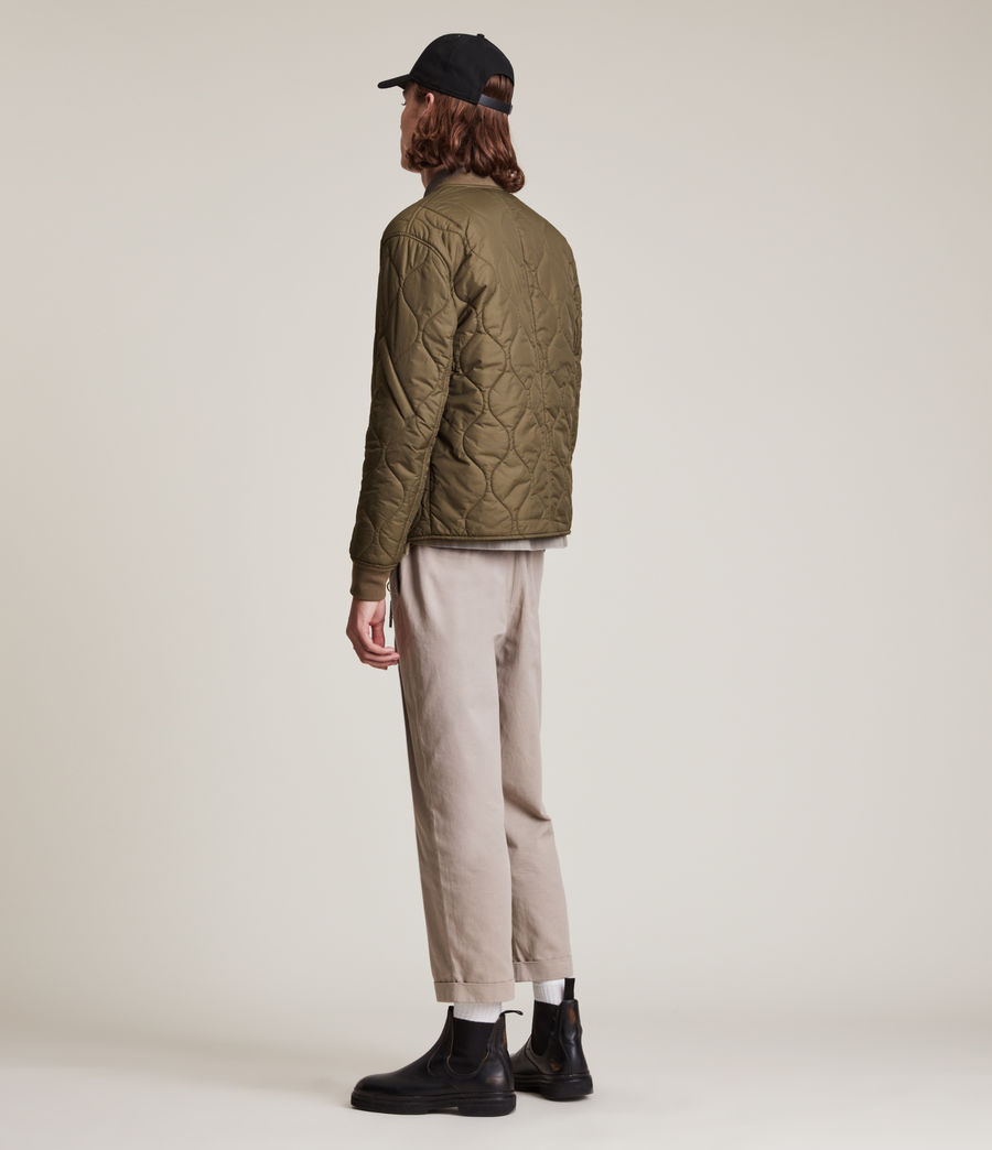 Mens Caldy Reversible Jacket (light_army_grn_blk) - Image 7