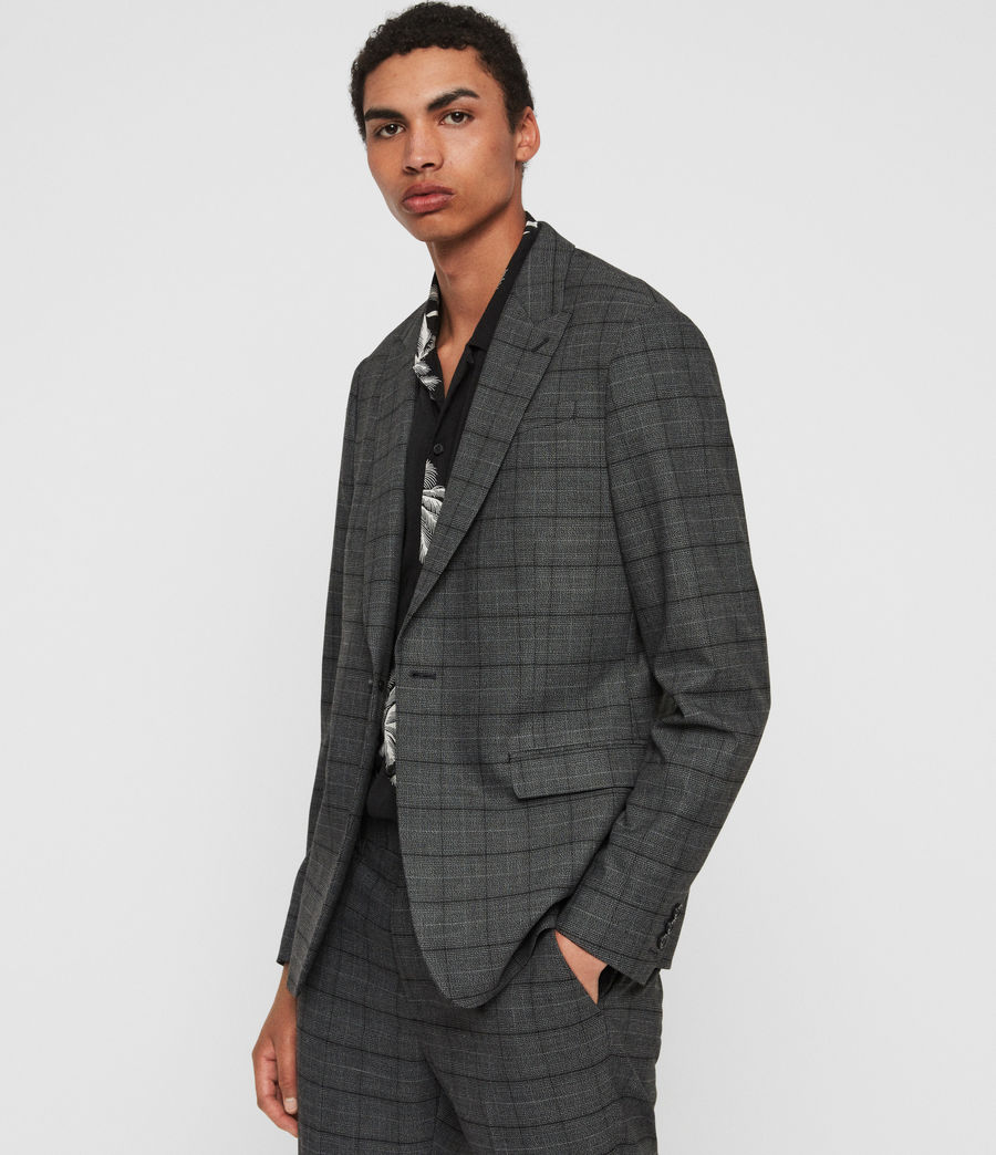 Mens Rathbone Blazer (grey) - Image 2
