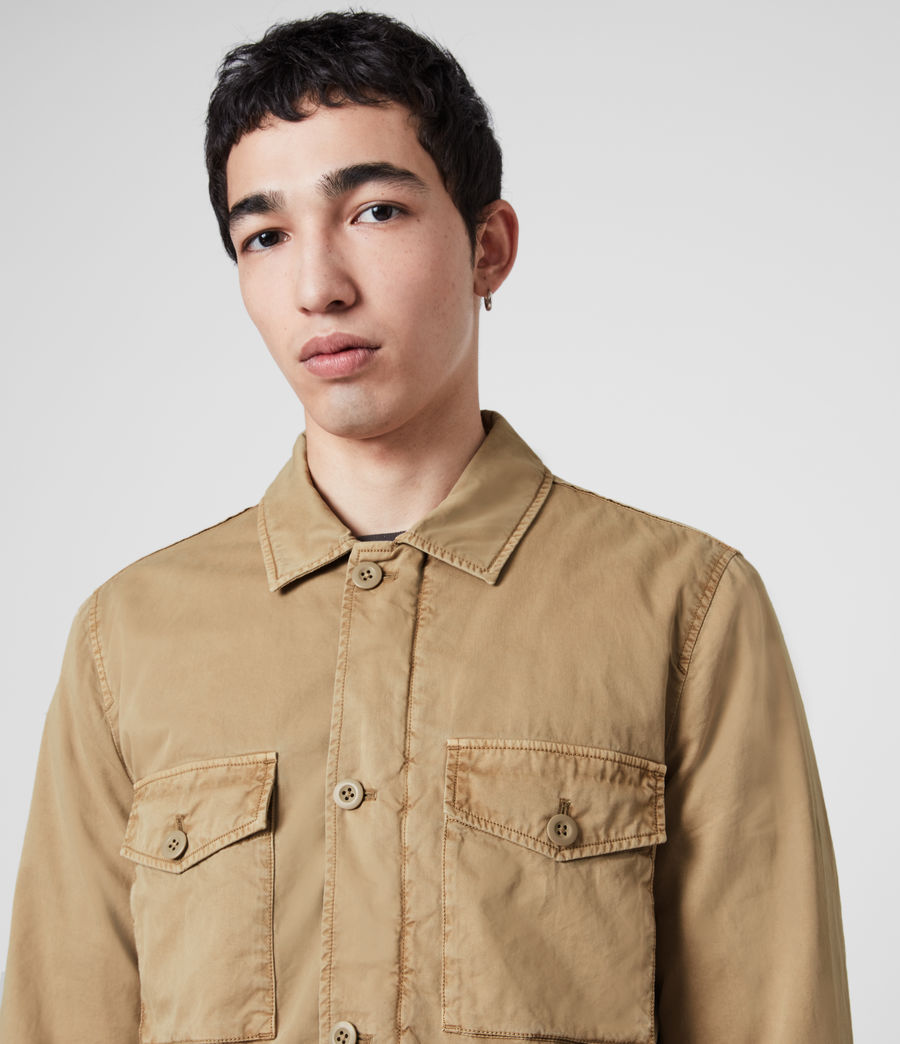 Men's Colridge Jacket (cord_taupe) - Image 2