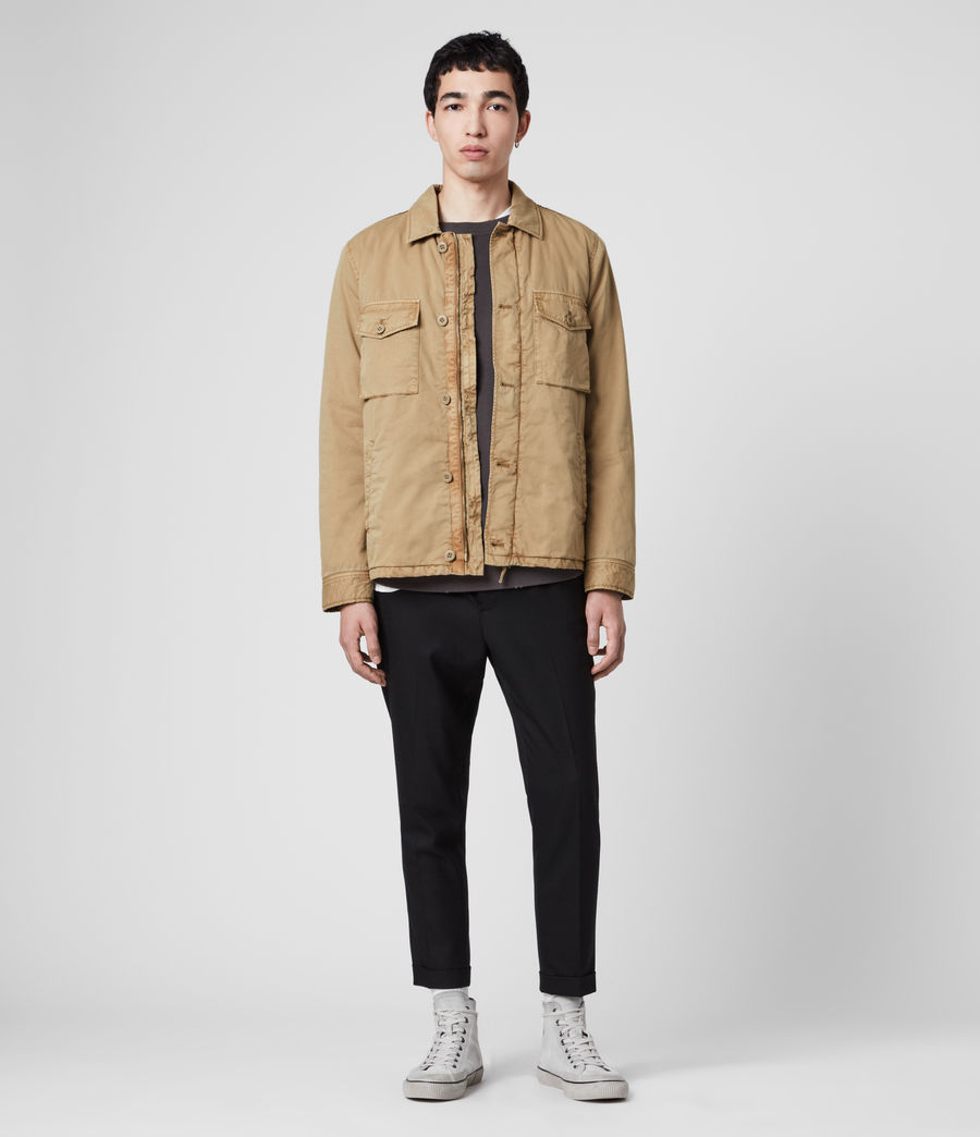 Men's Colridge Jacket (cord_taupe) - Image 3
