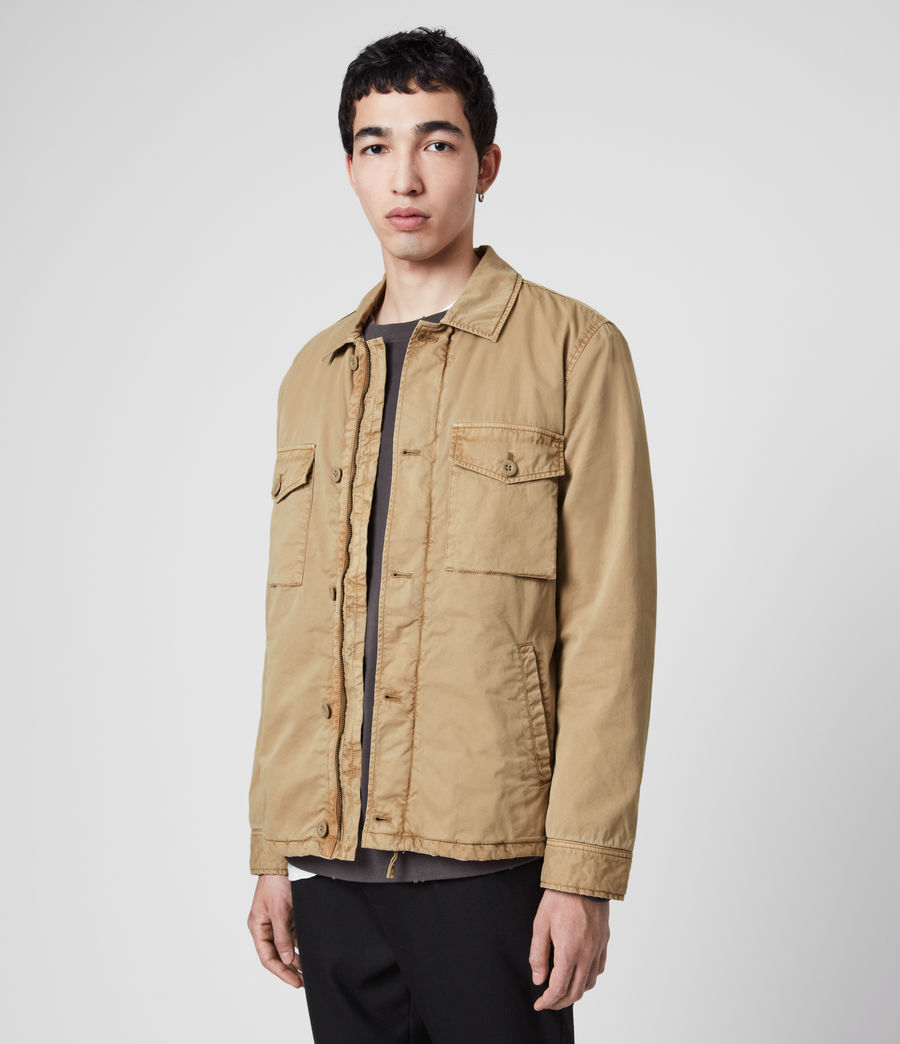 Men's Colridge Jacket (cord_taupe) - Image 4