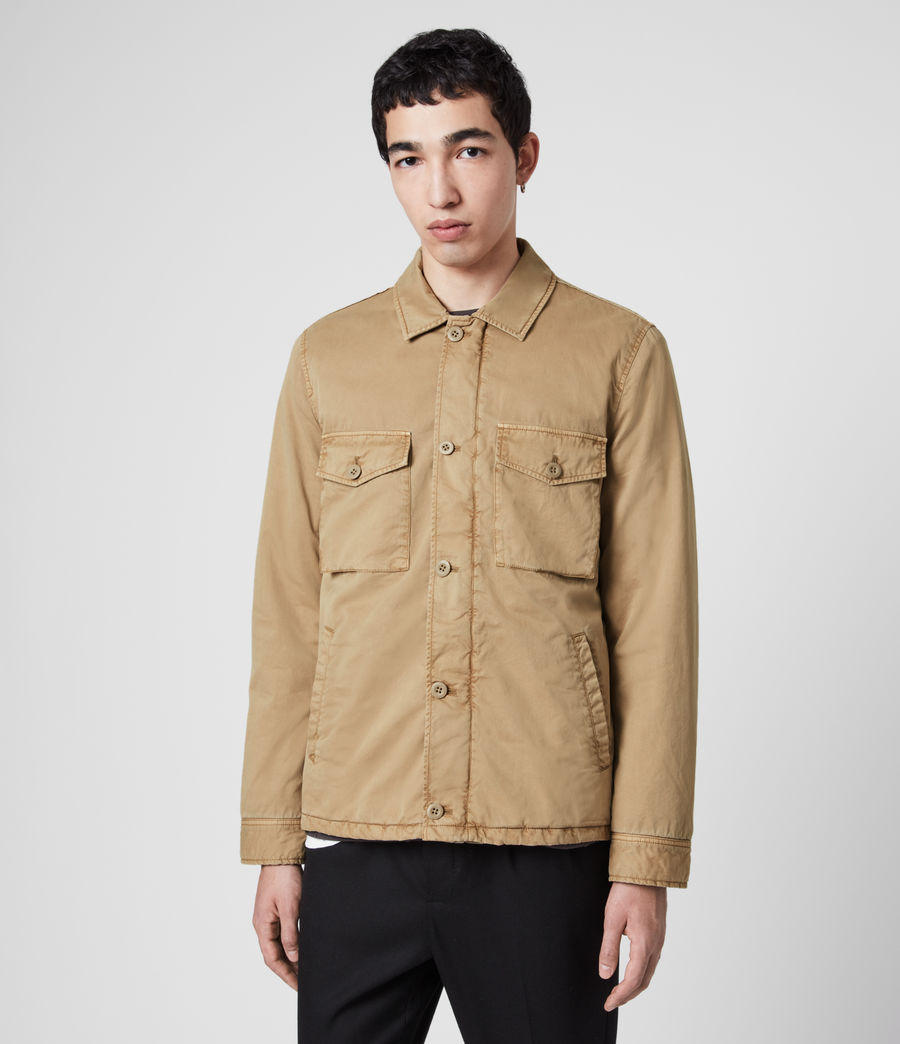 Men's Colridge Jacket (cord_taupe) - Image 5