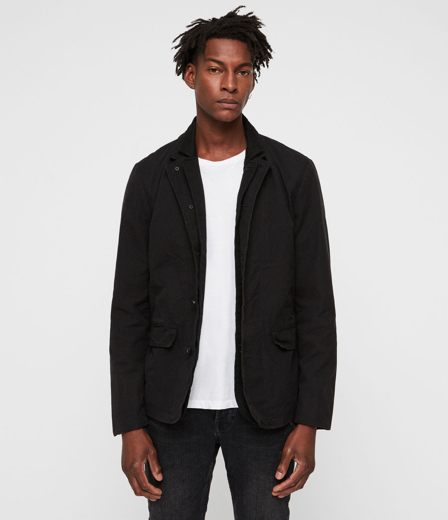 Mens Brook Blazer (black) - Image 1