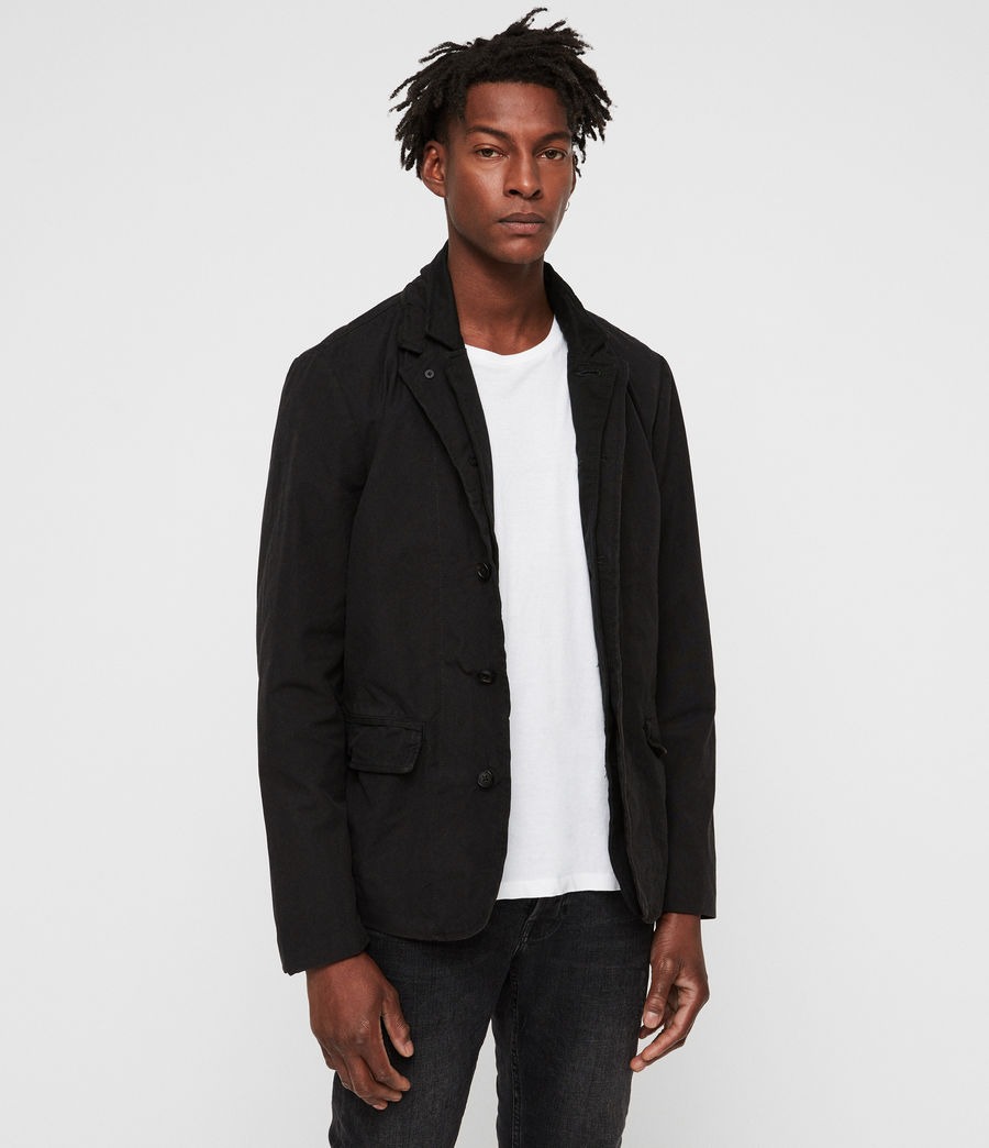 Mens Brook Blazer (black) - Image 4