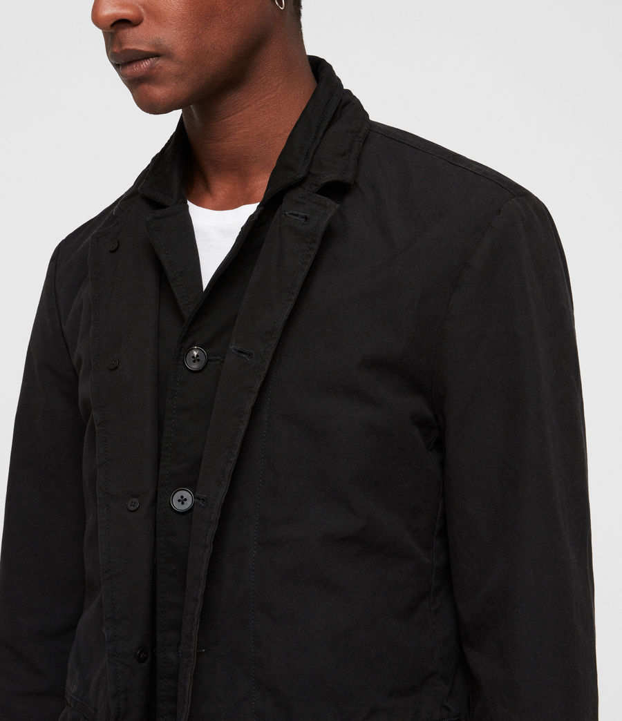 Mens Brook Blazer (black) - Image 5