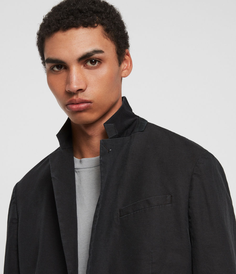 Mens Drayson Blazer (washed_black) - Image 3