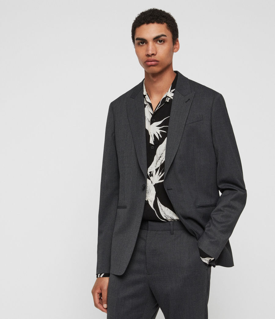 Mens Hendon Blazer (charcoal_grey) - Image 2