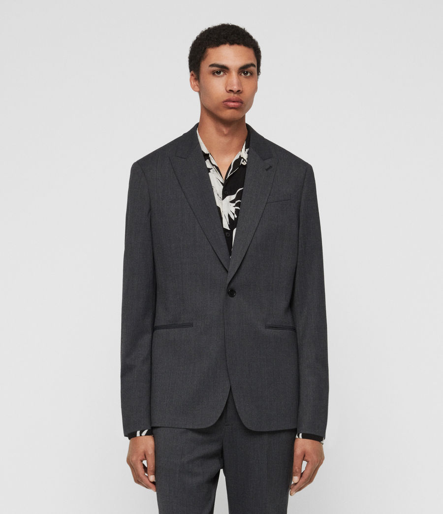 Mens Hendon Blazer (charcoal_grey) - Image 3
