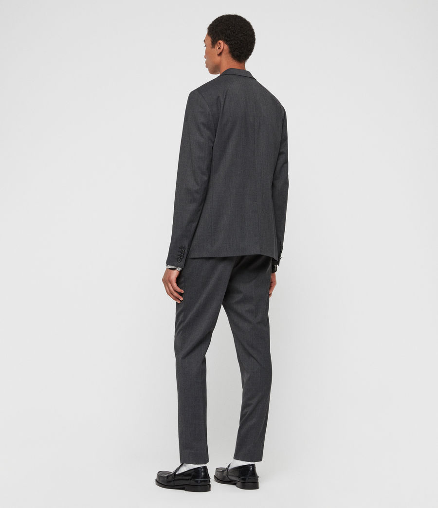 Mens Hendon Blazer (charcoal_grey) - Image 6