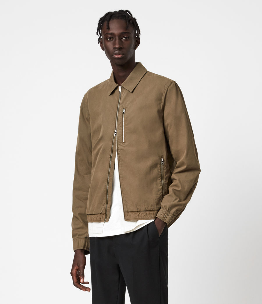 Men's Porter Jacket (khaki) - Image 1