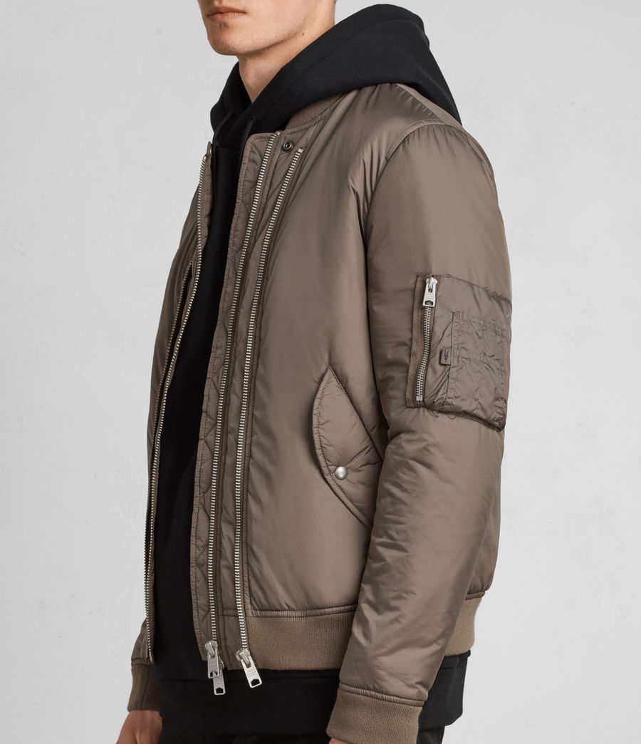 Hombres Cazadora bomber Lombard (taupe_brown) - Image 1